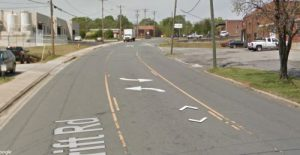 Wesley heights Charlotte NC on google maps